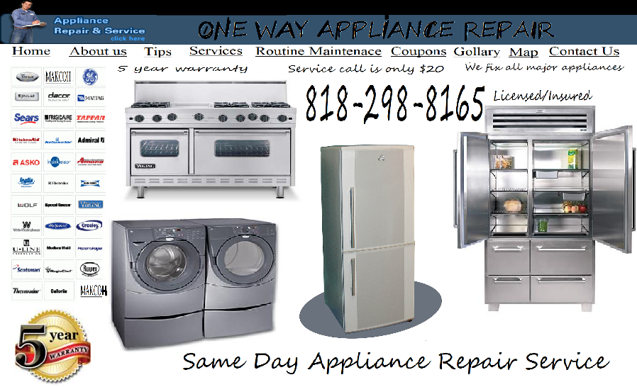 Refrigerator Repair West Hollywood